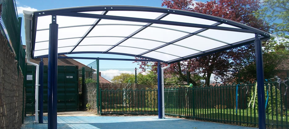 Canopies & Shelters Installed  Southport