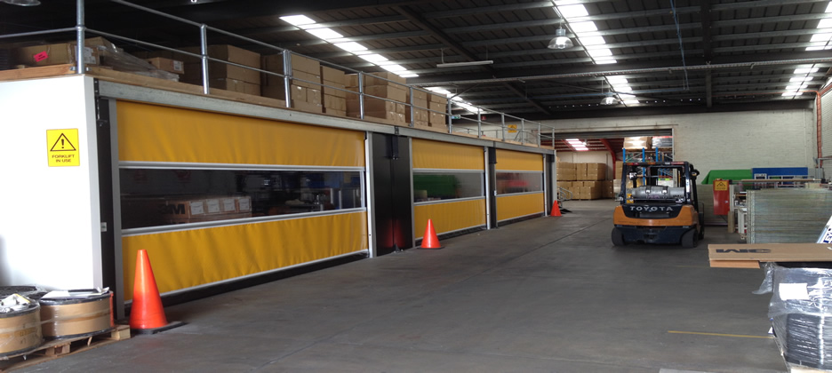 High Speed Roller Shutters Southport