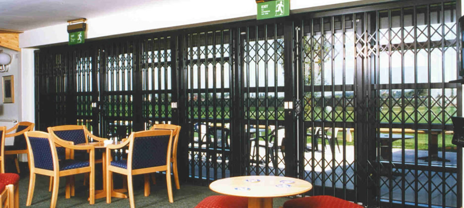 Commercial Security Grilles Southport