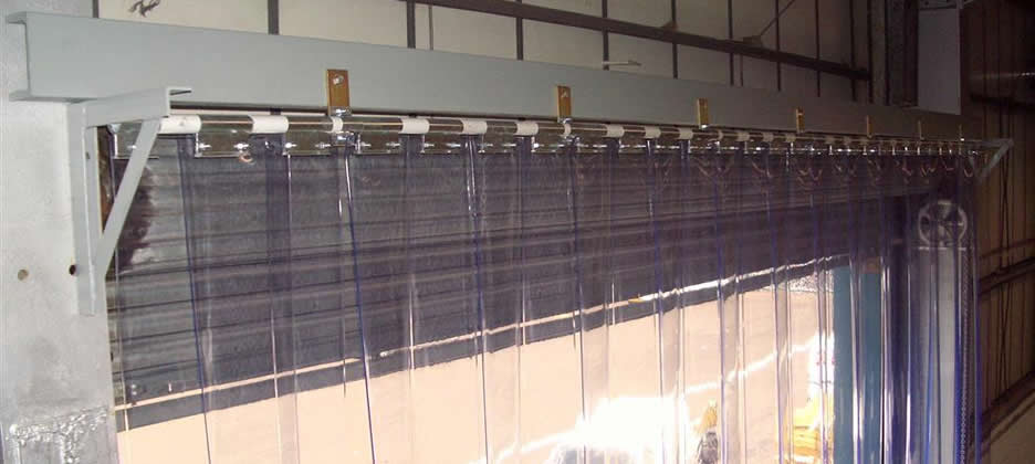 Pvc Strip Curtains Installed  Southport